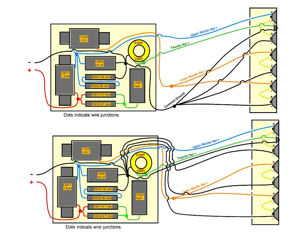 speaker design works Speaker Crossovers Circuit Diagrams